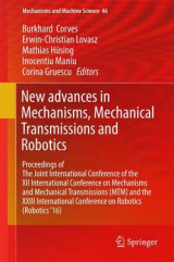 Omslag - New Advances in Mechanisms, Mechanical Transmissions and Robotics 2017