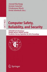 Omslag - Computer Safety, Reliability, and Security 2016