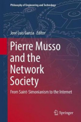 Omslag - Pierre Musso and the Network Society 2016