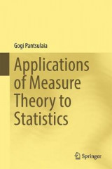 Omslag - Applications of Measure Theory to Statistics 2017