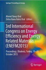 Omslag - 3rd International Congress on Energy Efficiency and Energy Related Materials (ENEFM2015) 2017
