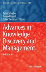 Omslag - Advances in Knowledge Discovery and Management 2017: Volume 6