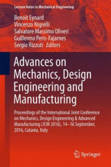 Omslag - Advances on Mechanics, Design Engineering and Manufacturing