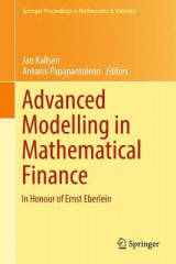Omslag - Advanced Modeling in Mathematical Finance 2016