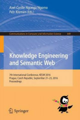 Omslag - Knowledge Engineering and Semantic Web 2016