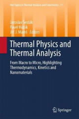 Omslag - Thermal Physics and Thermal Analysis 2017