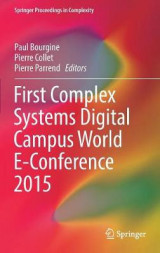 Omslag - First Complex Systems Digital Campus World E-Conference 2015