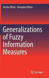 Omslag - Generalizations of Fuzzy Information Measures
