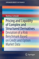 Omslag - Pricing and Liquidity of Complex and Structured Derivatives 2017