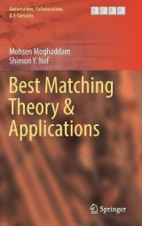 Omslag - Best Matching Theory & Applications 2017
