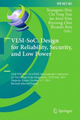 Omslag - VLSI-SoC: Design for Reliability, Security, and Low Power 2016