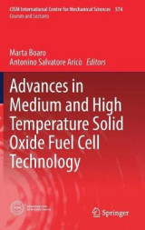 Omslag - Advances in Medium and High Temperature Solid Oxide Fuel Cell Technology