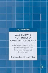 Omslag - Was Ludwig von Mises a Conventionalist?