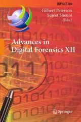 Omslag - Advances in Digital Forensics 2016: Volume 12