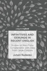 Omslag - Infinitives and Gerunds in Recent English 2017