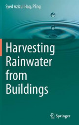 Omslag - Harvesting Rainwater from Buildings 2017