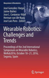Omslag - Wearable Robotics: Challenges and Trends