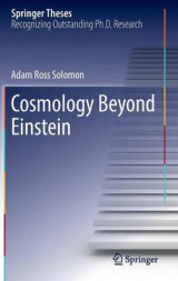 Omslag - Cosmology Beyond Einstein