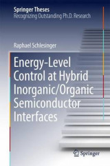 Omslag - Energy-Level Control at Hybrid Inorganic/Organic Semiconductor Interfaces