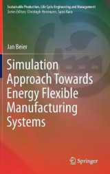 Omslag - Simulation Approach Towards Energy Flexible Manufacturing Systems
