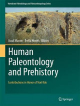 Omslag - Human Paleontology and Prehistory
