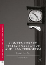 Omslag - Contemporary Italian Narrative and 1970s Terrorism 2017