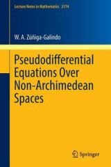 Omslag - Pseudodifferential Equations Over Non-Archimedean Spaces 2017