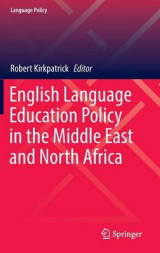 Omslag - English Language Education Policy in the Middle East and North Africa