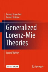 Omslag - Generalized Lorenz-Mie Theories 2017