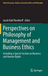 Omslag - Perspectives on Philosophy of Management and Business Ethics
