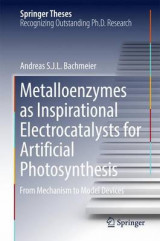 Omslag - Metalloenzymes as Inspirational Electrocatalysts for Artificial Photosynthesis 2016