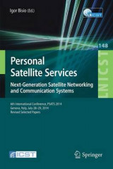 Omslag - Personal Satellite Services. Next-Generation Satellite Networking and Communication Systems 2016