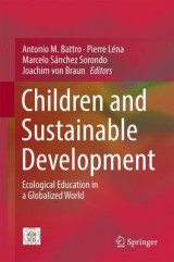 Omslag - Children and Sustainable Development 2017
