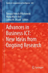 Omslag - Advances in Business ICT: New Ideas from Ongoing Research