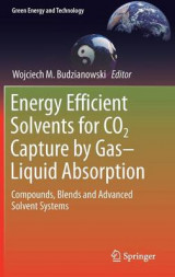 Omslag - Energy Efficient Solvents for CO2 Capture by Gas-Liquid Absorption