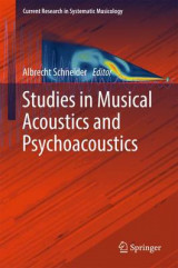 Omslag - Studies in Musical Acoustics and Psychoacoustics