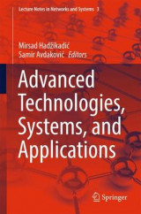Omslag - Advanced Technologies, Systems, and Applications