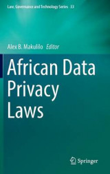 Omslag - African Data Privacy Laws 2017
