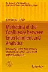 Omslag - Marketing at the Confluence Between Entertainment and Analytics 2017