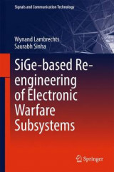 Omslag - Sige-Based Re-Engineering of Electronic Warfare Subsystems