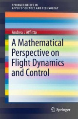 Omslag - A Mathematical Perspective on Flight Dynamics and Control
