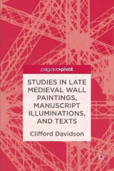 Omslag - Studies in Late Medieval Wall Paintings, Manuscript Illuminations, and Texts