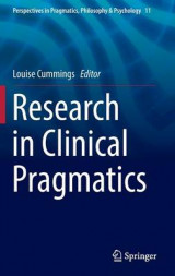 Omslag - Research in Clinical Pragmatics