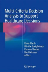 Omslag - Multi-Criteria Decision Analysis to Support Healthcare Decisions 2017