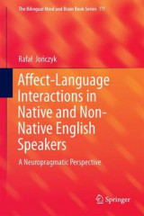 Omslag - Affect-Language Interactions in Native and Non-Native English Speakers 2017