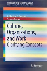 Omslag - Culture, Organizations, and Work 2017