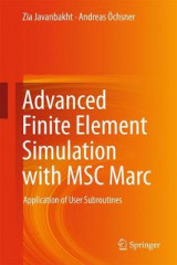 Omslag - Advanced Finite Element Simulation with MSC Marc 2016