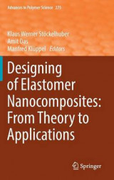 Omslag - Designing of Elastomer Nanocomposites: From Theory to Applications 2017