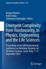 Omslag - Emergent Complexity from Nonlinearity, in Physics, Engineering and the Life Sciences