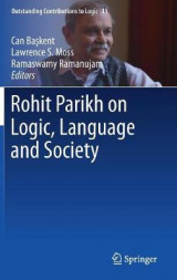 Omslag - Rohit Parikh on Logic, Language and Society 2017